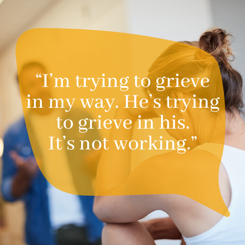 GriefChat Bereavement Counselling Page Banner - Mobile